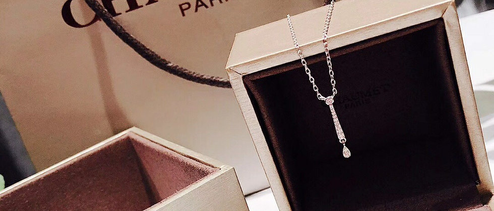 CHAUMET Necklace Silver952