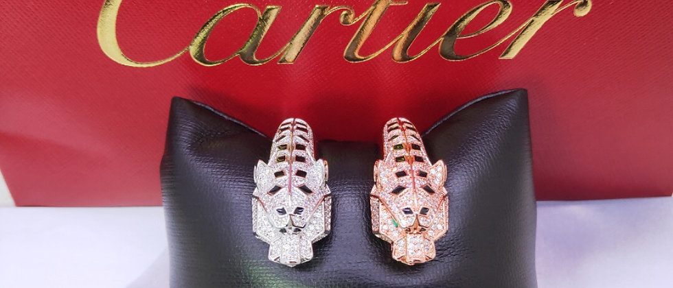 CARTIER Bracelet Crystal Pt950