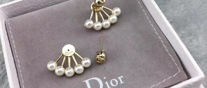 DIOR Earrings Pearl 18K