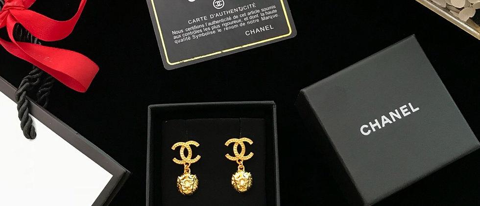 CHANEL Earrings 925Silver