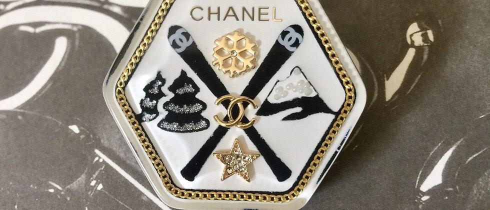 CHANEL Brooch 925Silver