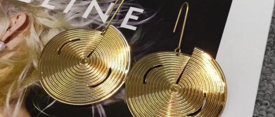CELINE Earrings 925Silver