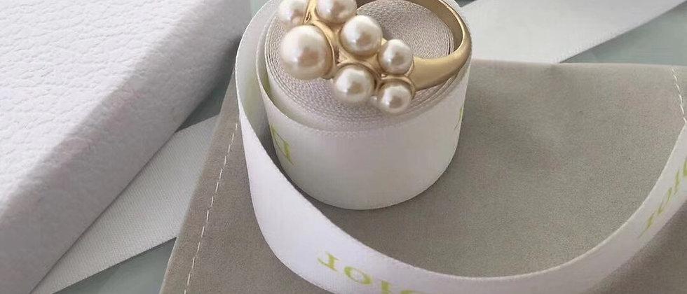 DIOR Rings Pearl  18K