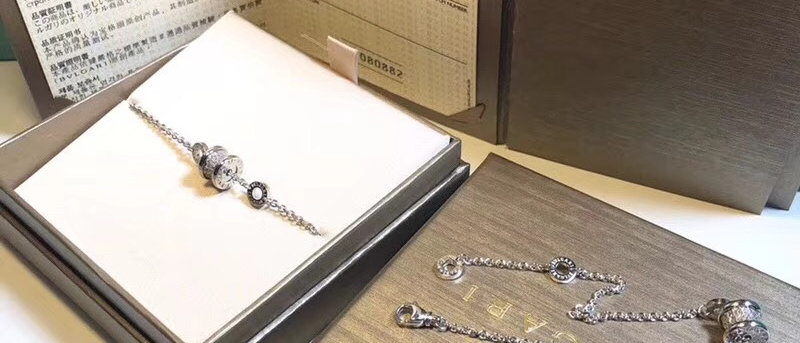 BVLGARI Bracelet Crystal 925Silver