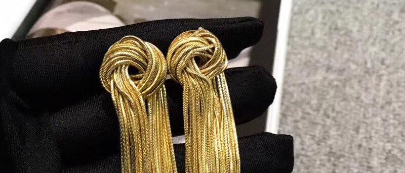 CELINE Earrings 18K 925Silver