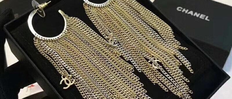 CHANEL Earrings18K