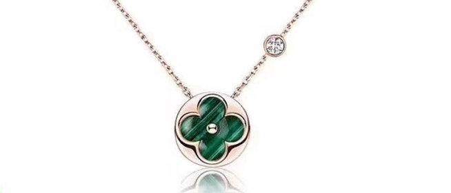 LOUIS VUITTON Necklace 925Silver
