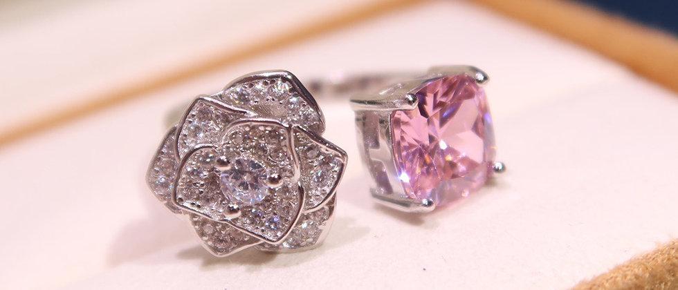 PIAGET Rings Crystal 925Silver