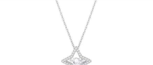 SWAROVSKI Necklace Crystal Silver952