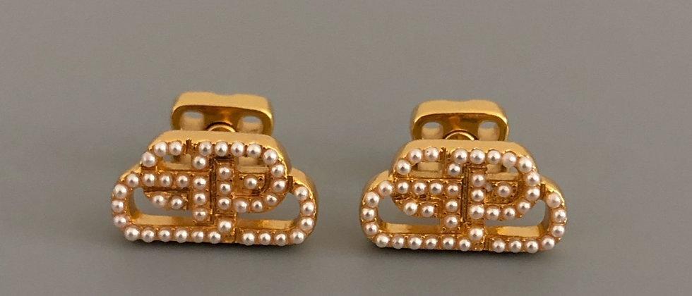 BALENCIAGA Earrings 925Silver