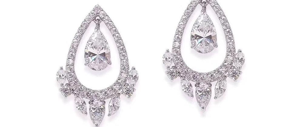 CARAT Earrings Crystal 925Silver
