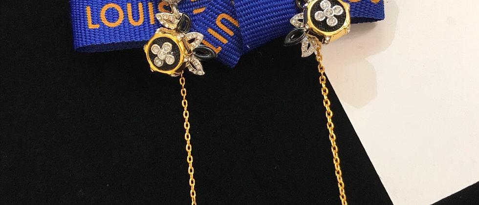 LOUIS VUITTON  Earrings 925Silver