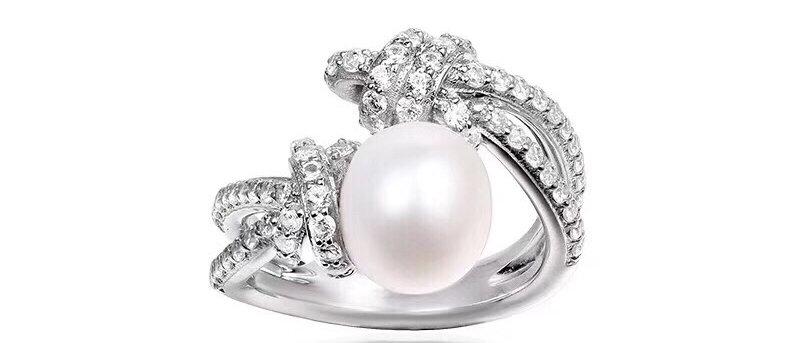 APM Rings Pearl 925Silver