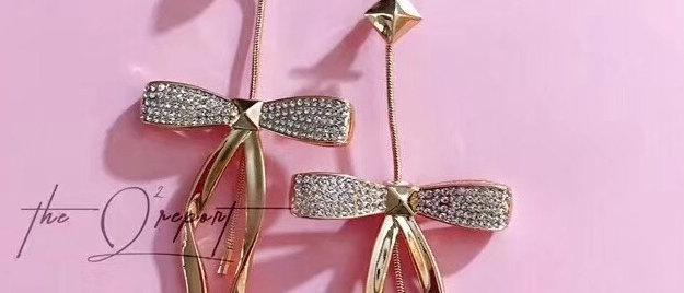 DAQUEENPAN Earrings Crystal 925Silver