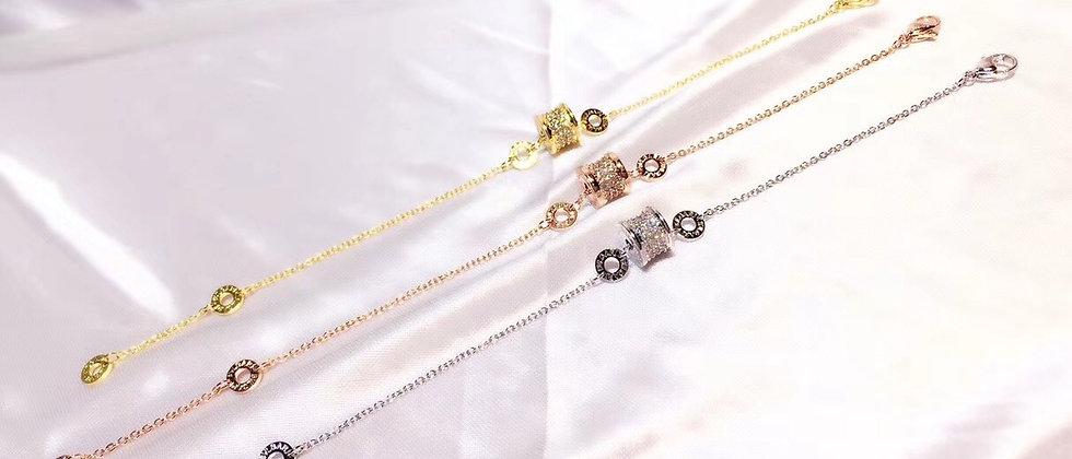 BVLGARI  Bracelet Crystal 18K