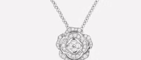 CHANEL  Necklace Crystal 925Silver