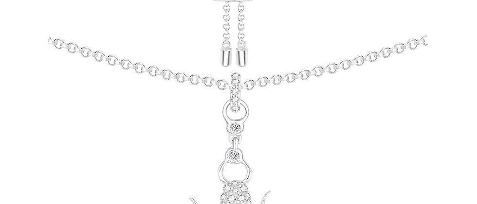 APM Necklace Crystal 925Silver