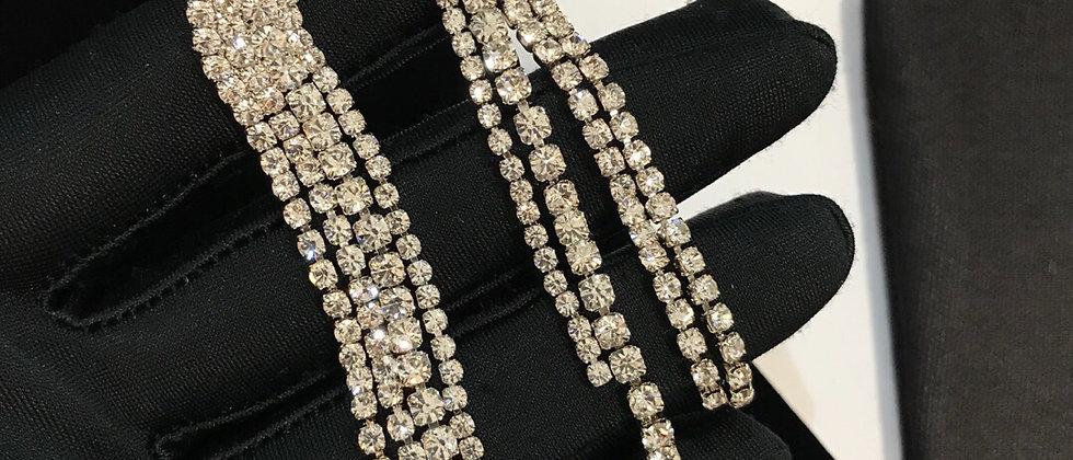 SIMONE Earrings Crystal 925Silver