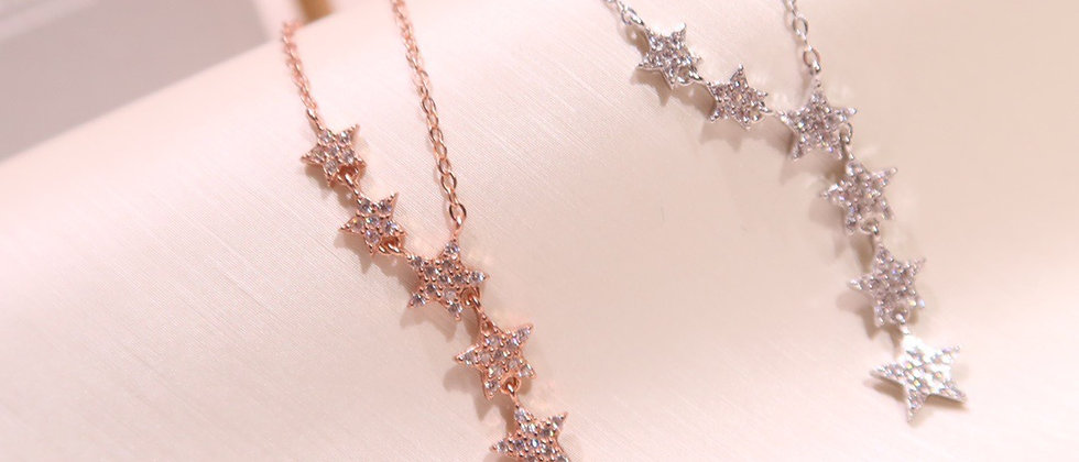 CHOMEL Necklace Crystal 925Silver