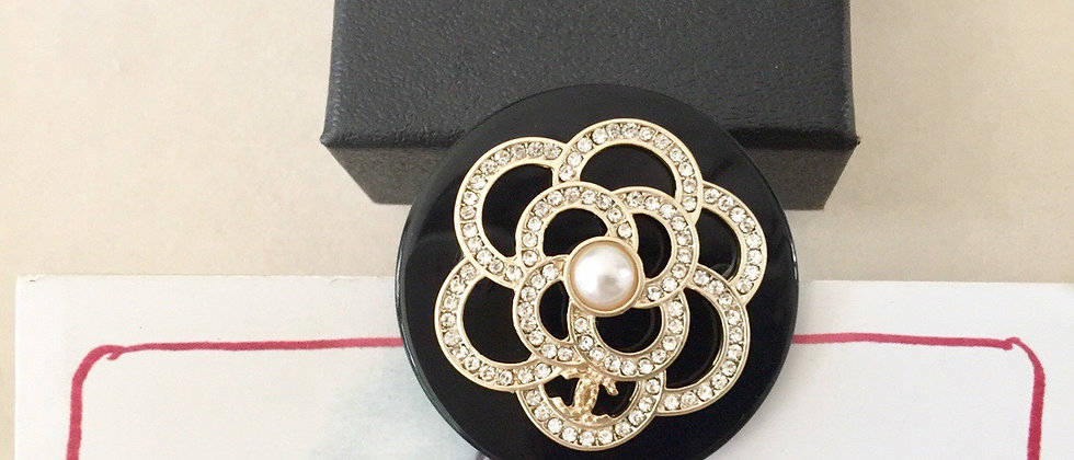 CHANEL Brooch 925Silver