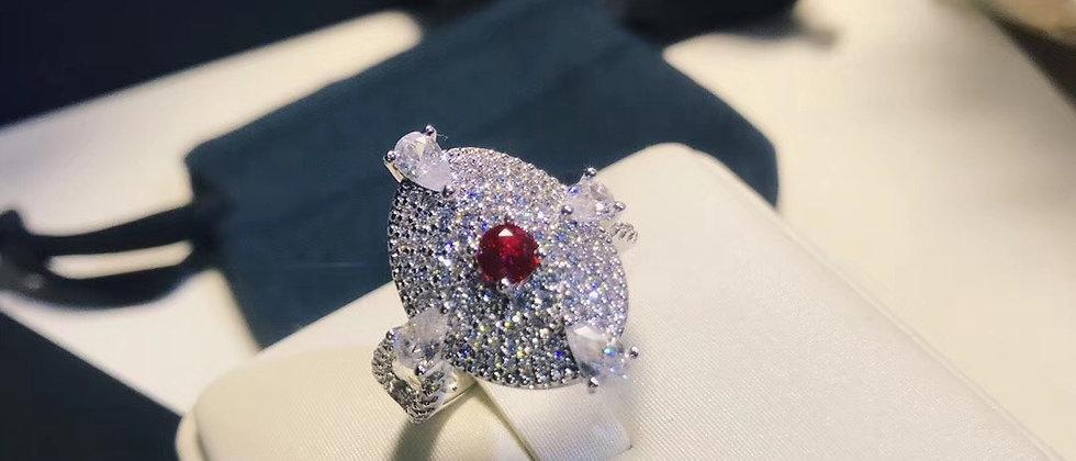 APM Rings Crystal 925Silver