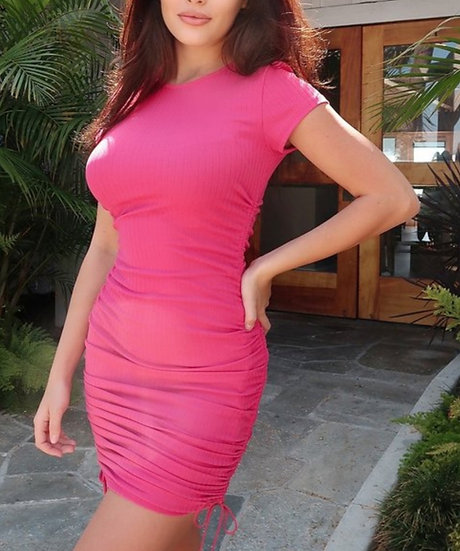 Stay Ready- Dress- Fuchsia