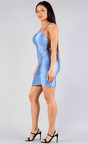 Back Out- Dress- Cambray
