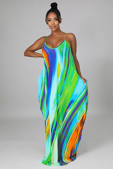 Forever Mood - Mukti Colored Dress