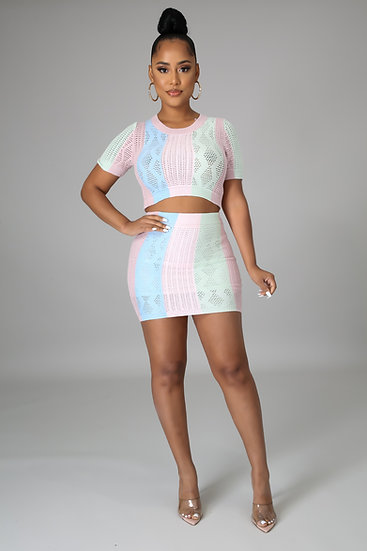 Perfect Match - Skirt Set