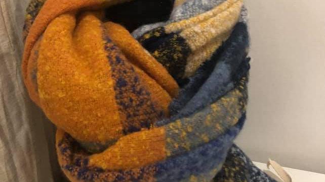 Echarpe multicolor
