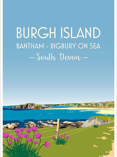 Burgh Island, Bantham & Bigbury on Sea, Devon.