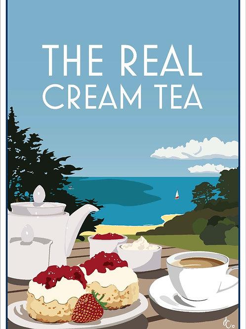 Cream Tea greeting cards (Pack of 5)