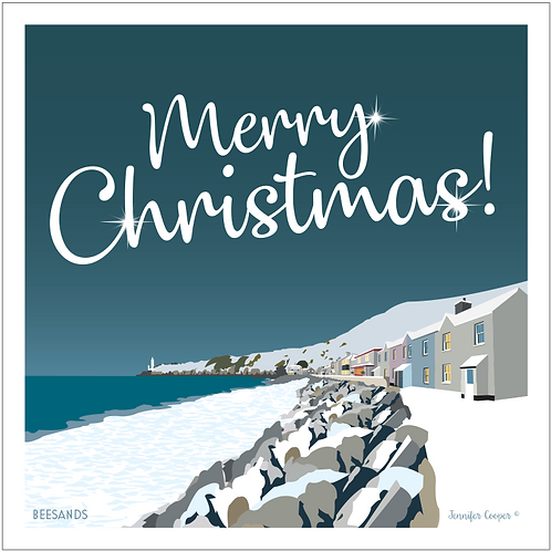 Beesands Christmas cards (Pack of 5)