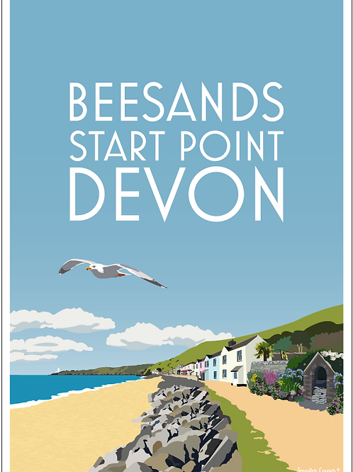 Beesands greeting cards (Pack of 5)
