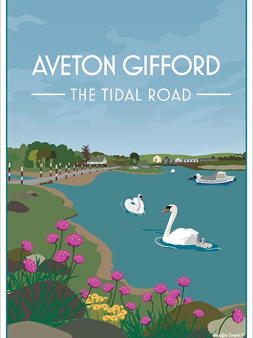 Aveton Gifford Tidal Road, Devon