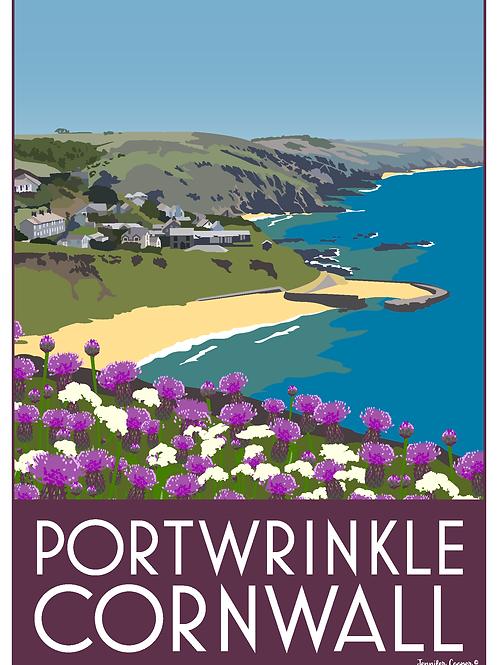 Portwrinkle Beach, Cornwall