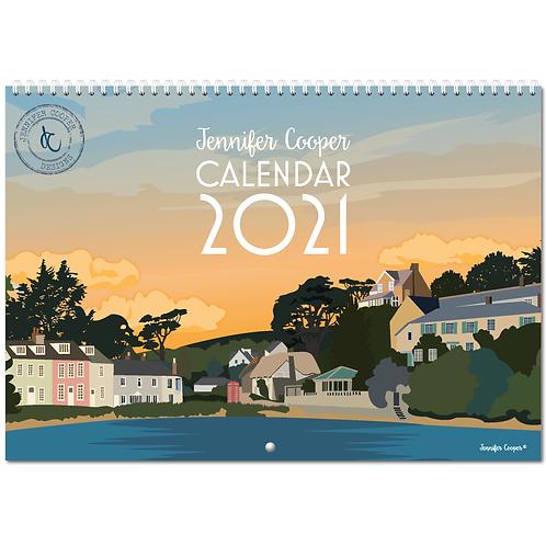 A3 Calendar 2021