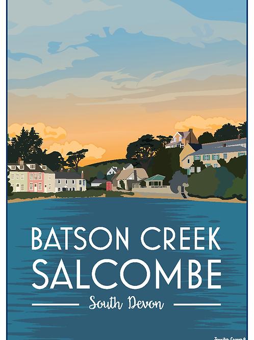 Batson Creek, Salcombe