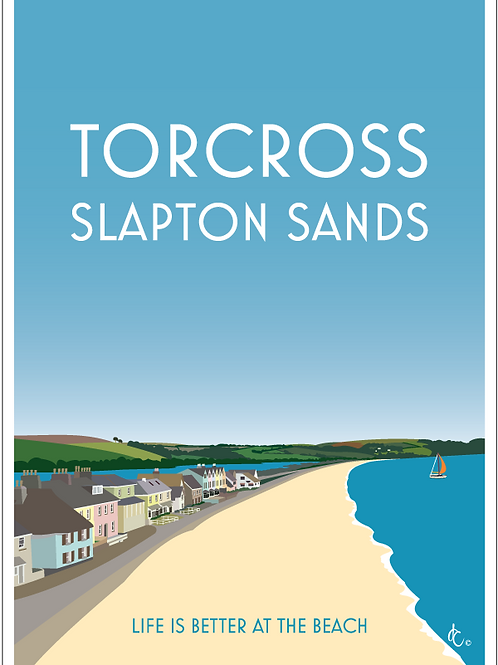 Torcross & Slapton Sands greeting cards (Pack of 5)