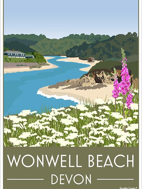 Wonwell Beach, Devon