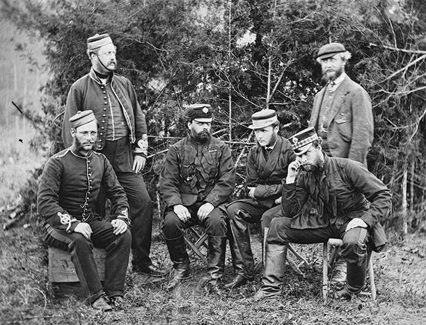 English troops in USA Civil War