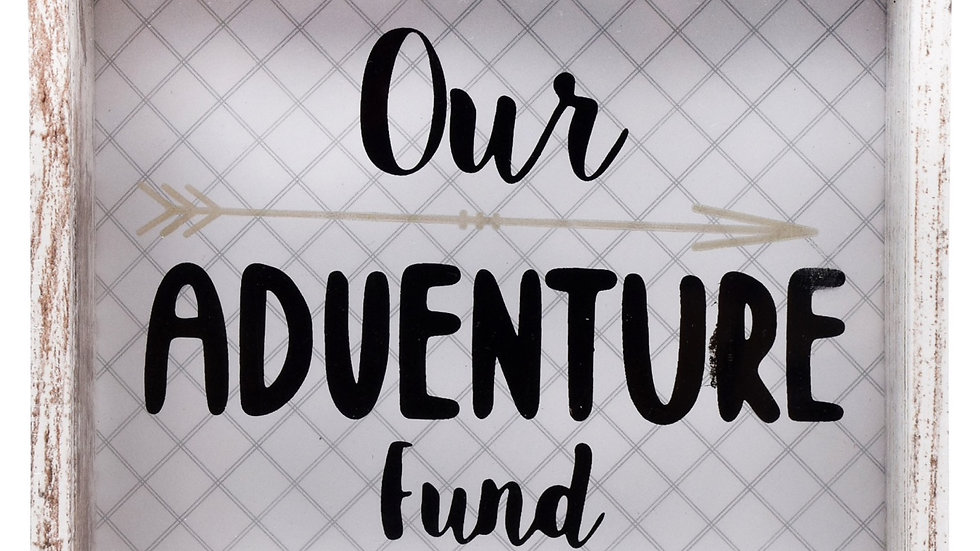 """""""Our Adventure Fund"""" Shadow Boxes"""