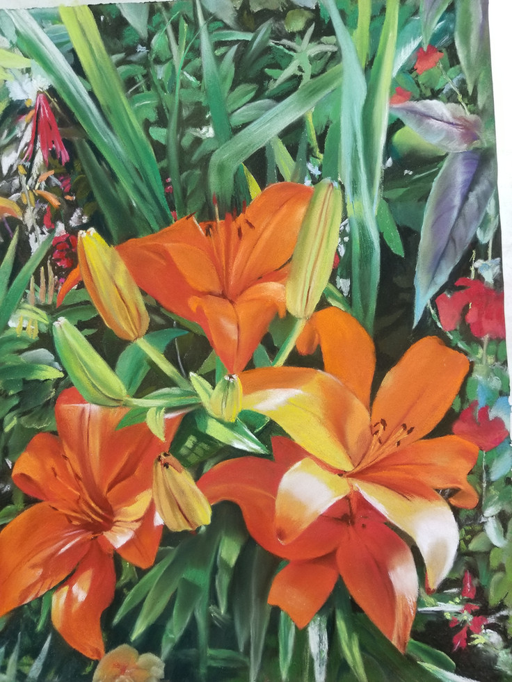 Giverny Lilies