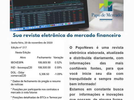 PapoNews 20/11/2020