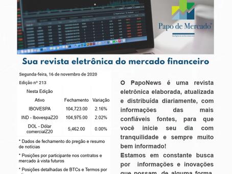 PapoNews 16/11/2020