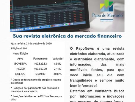 PapoNews 21/10/2020