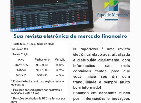 PapoNews 15/10/2020