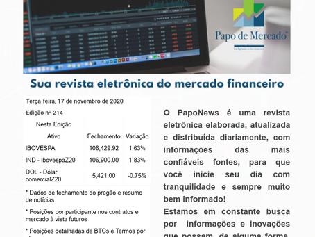 PapoNews 17/11/2020