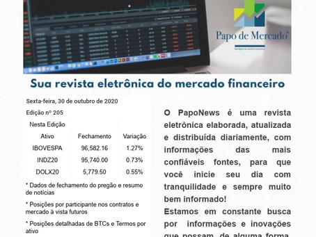 PapoNews 30/10/2020