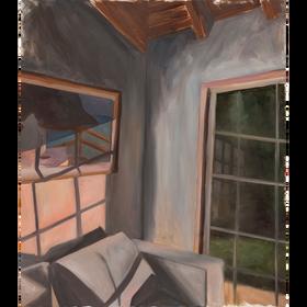 Rincón, 2020, óleo sobre tela, 60 x 50 cm